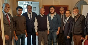 Milletvekili Özcan'dan Şanlıurfa Vakfı'na Hayırlı Olsun Ziyareti