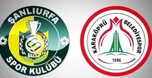 Şanlıurfaspor ve Karaköprü Belediyespor'da Haftanın Maç Programı