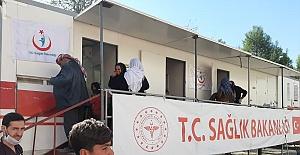 Urfa Sağlık İl Müdürlüğü Rasulayn'da Hastane Açtı