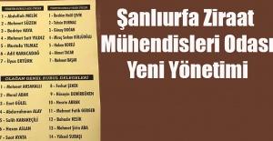 Şanlıurfa ZMO'da Yeni Başkanı Abdullah Melik Oldu