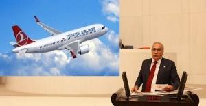 Milletvekili Aydınlık: Şanlıurfa - KKTC Uçak Seferleri Başlamalı