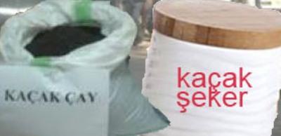Şanlıurfa'da kaçak çay ve şeker operasyonu