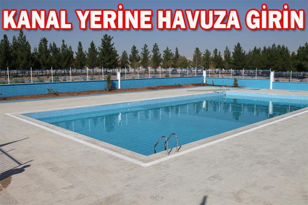 Boğulmalara karşı olimpik yüzme havuzları yapılıyor
