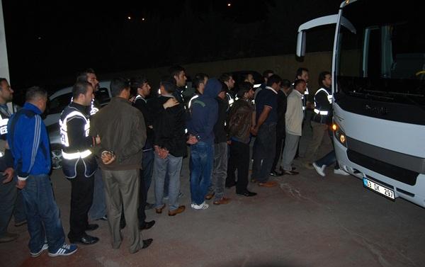 Şanlıurfa'da Dolandırıcılık Operasyonu: 68 gözaltı