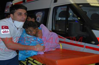 Çadır Kentte Yangın; 1 Ölü 5 Yaralı VİDEO