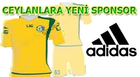 Adidas 2 yıl Şanlıurfaspor'un sponsoru olacak