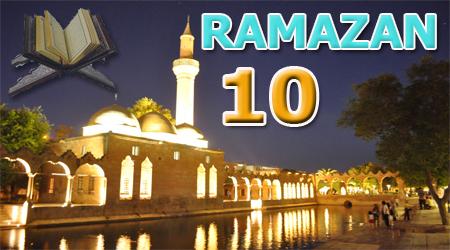 Ramazan sayfası, Kur'anı Kerim 10.Cüz