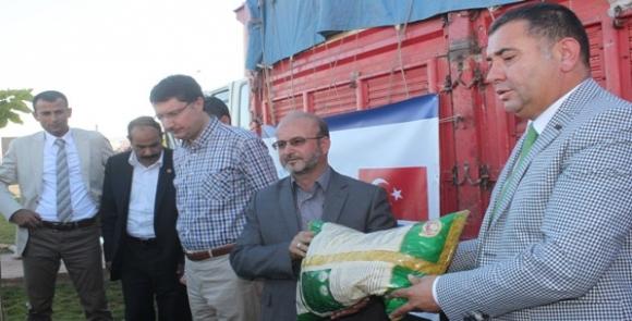 YESIDEF Suriye'ye Gıda Yardımı