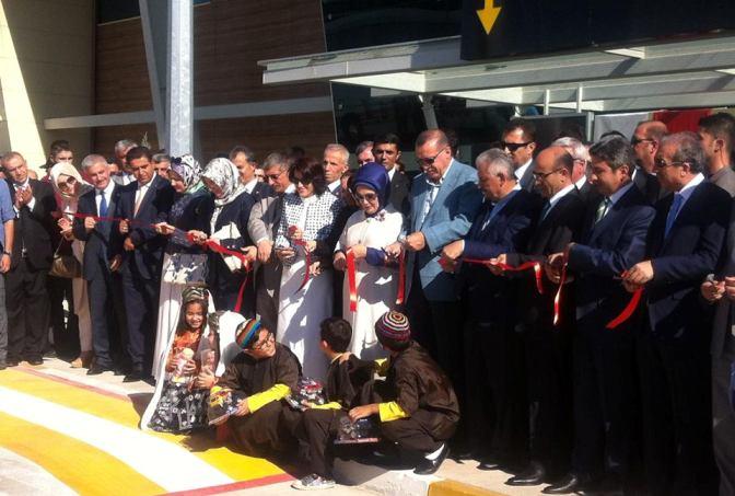 Adıyaman Havalimanı'nın açılışını Erdoğan yaptı