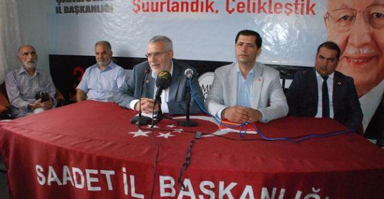 Saadet Partisi, Şanlıurfa'da atağa kalkıyor VİDEO