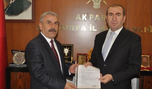 Lütfi Top; Viranşehir'e hizmet için adayım VİDEO