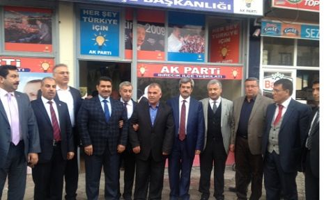 AK Partili aday adaylarından Birecik'e çıkarma