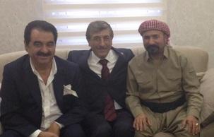 Diyarbakır'da Türkiye'ye damga vuran Urfalılar; Tatlıses ve Perwer