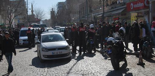 Şehir merkezinde silahlı kavga VİDEO