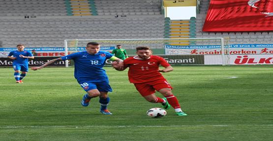 GAP Arenada dört dörtlük maç, Türkiye 4 - 4 Slovakya