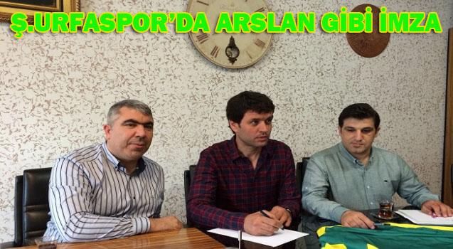 Şanlıurfaspor teknik Direktörü Cihat Arslan oldu