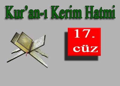 Kabe İmamlarından Kur'an'ı Kerim Hatimi