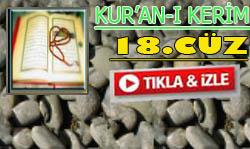Kur'an'ı Kerim Hatimi Cüz 18