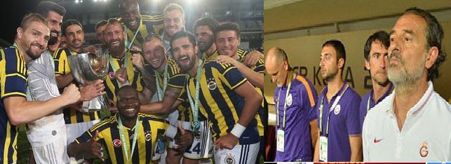 Fenerbahçe ve Galatasaraylılar Süper Kupa maçını değerlendirdi