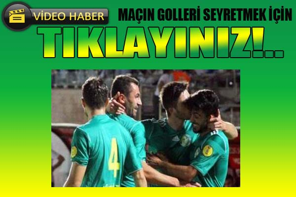 Şanlıurfaspor Adanaspor'u 2-1 GOLLERİ İZLE