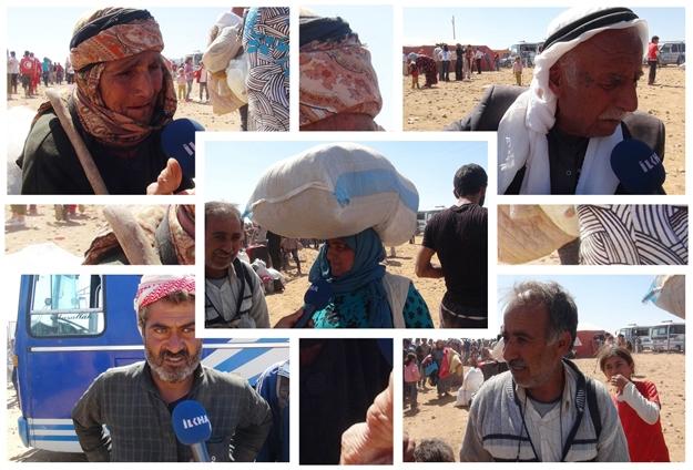 Kobanililer sınırda mağdur oluyor