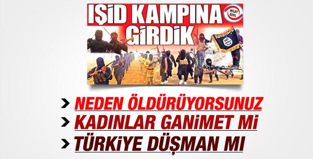 Gazeteci Ahmet Ay IŞİD kampına girdi