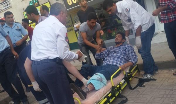 Şanlıurfa Emniyet Caddesinde Silahlı Yaralama