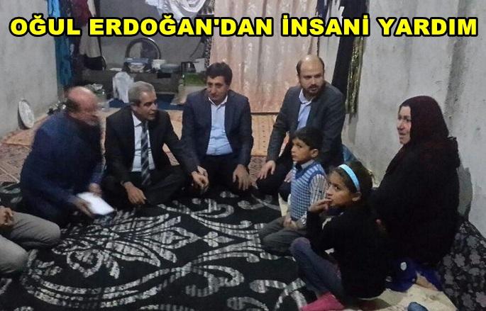 Bilal Erdoğan, Kobanililer için TÜRGEV'le Şanlurfa'da