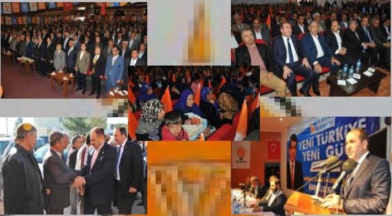 AK Parti İlçe Kongreleri Şölen Havasında Yapıldı FOTO GALERİ