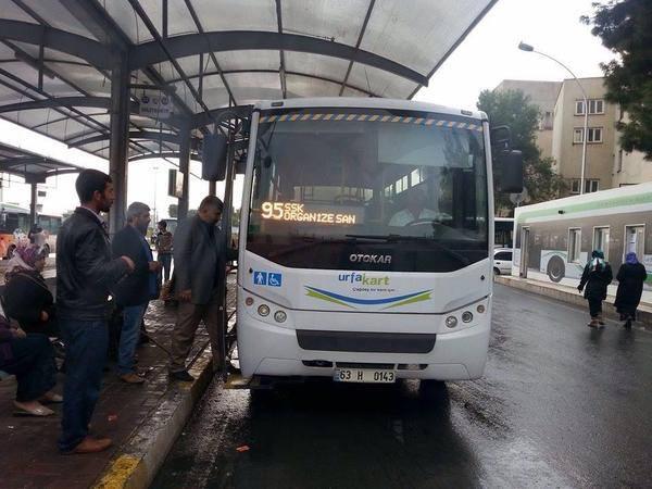 OSB'ye otobüs hattı açıldı