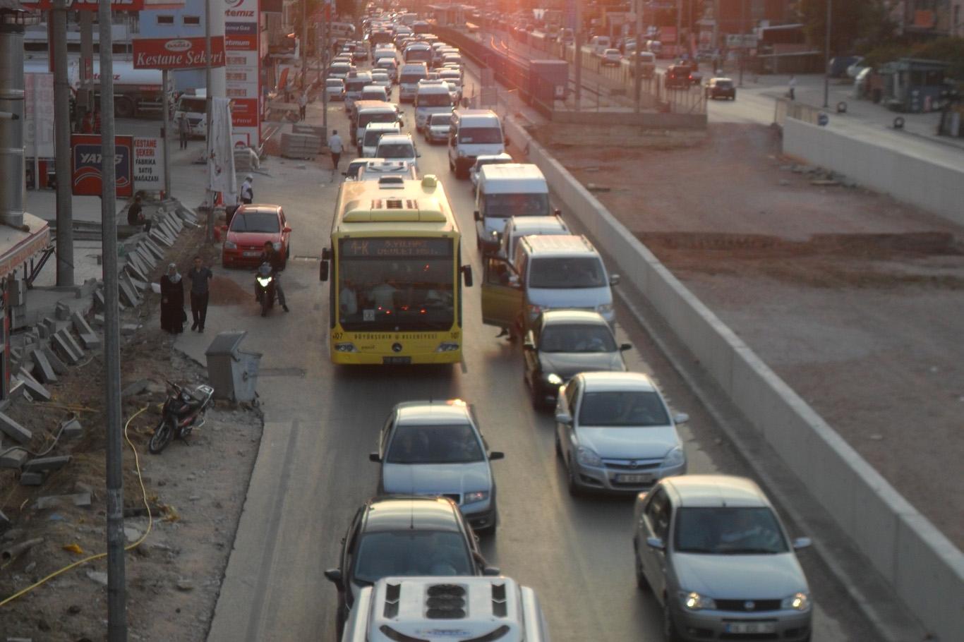 İşte Bursa'daki araç sayısı