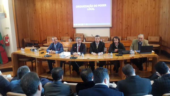 Portekiz'de belediyeleri Güvenç temsil etti