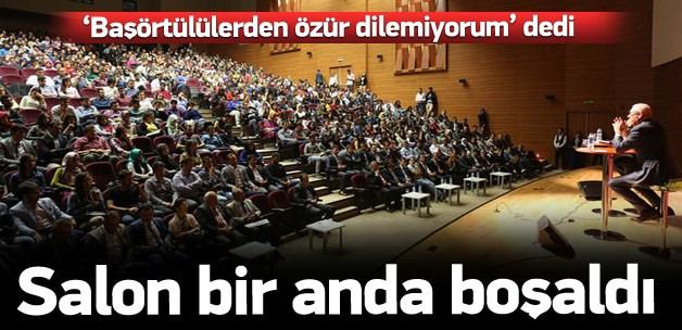 Gülen'e yakın Üniversite Ertuğrul Özkök'ü Ağırladı