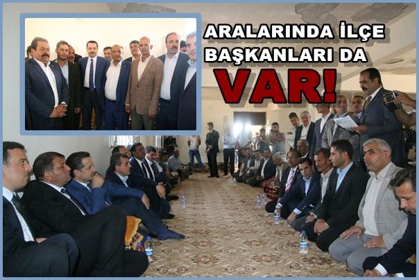Urfa'da AK Parti'ye Büyük Katılım