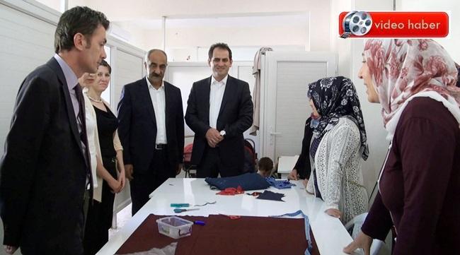 İŞKUR Genel Müdürü Nusret Yazıcı Hilvan'a geldi