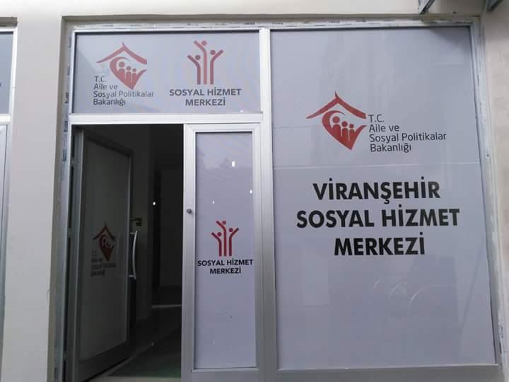 Viranşehir'de Sosyal Hizmet Merkezi açıldı