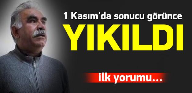 Öcalan, seçimlerde HDP'yi başarısız buldu