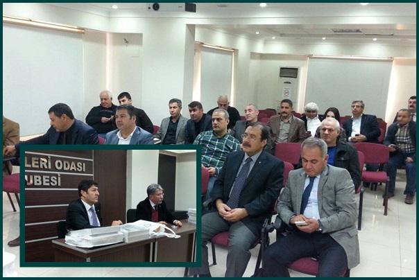 44. TMMOB Ziraat Mühendisleri Toplantısı Urfa'da Yapıldı