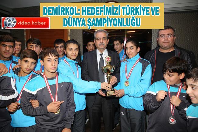 Haliliye Belediyespor 21 madalya ile döndü