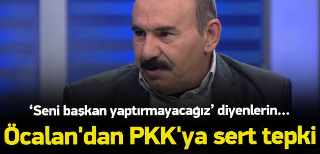 Osman Öcalan PKK'ya sert çıktı