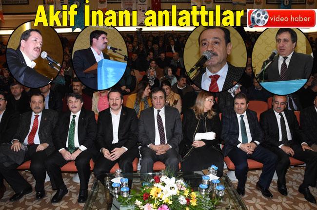 URFA'DA AKİF İNAN'I ANMA GECESİ DÜZENLENDİ