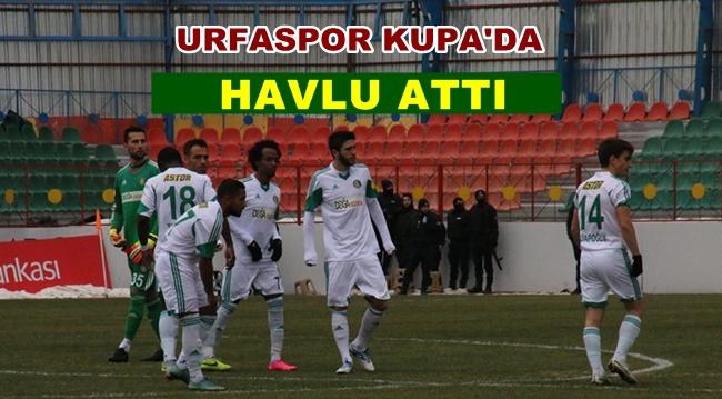 Urfaspor Amed'e her iki maçta da yenildi