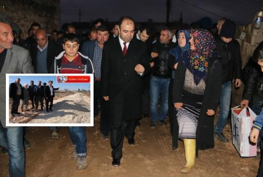Yaslıca çamuruna Başkan Çiftçi el attı VİDEO