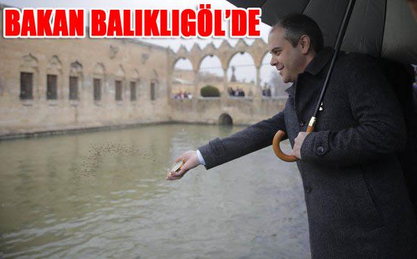 Bakan Akif Çağatay Kılıç Balıklıgöl'ü ziyaret etti
