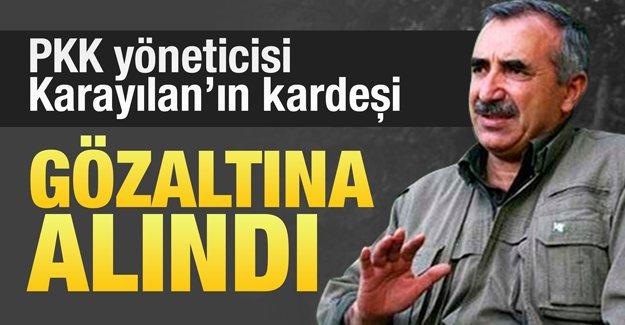 Murat Karayılan'a şok! Kardeşi gözlatına alındı