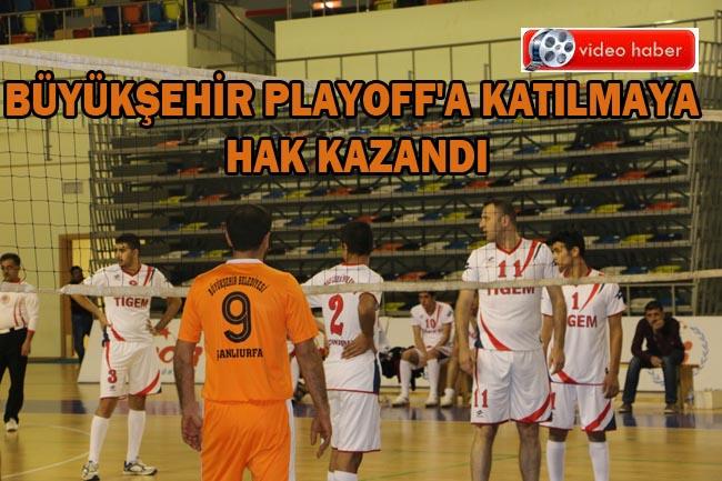 Urfa Büyükşehir Belediyesi Voleybol Takımının büyük başarısı