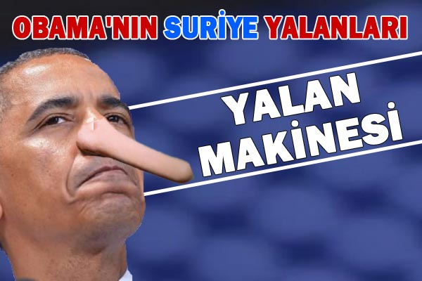 Obama'ın tüm söylemler tam bir fiyasko çıktı..