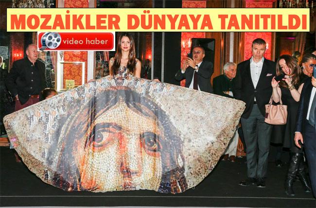 Mozaik Yolu Gstaad kentinde dünyaya tanıtıldı