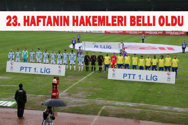 23. Haftanın hakemleri: Şanlıurfaspor Boluspor maçını kim yönetecek