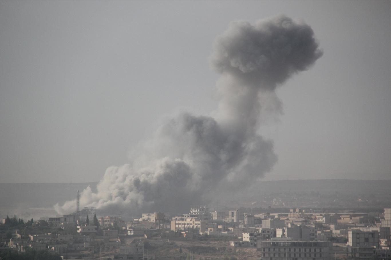 Suriye Tel abyad'da çatışmalar devam ediyor
